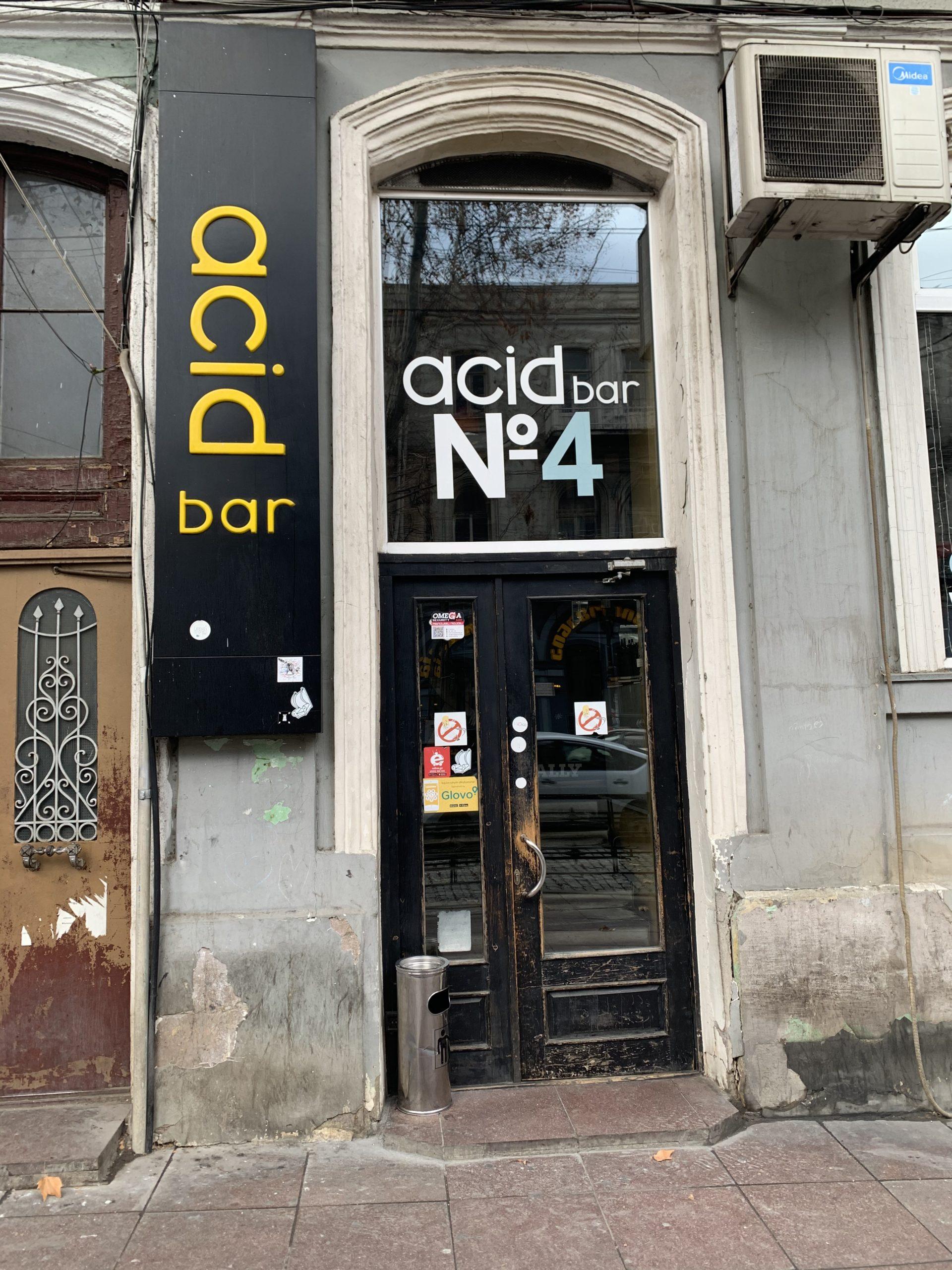 acidbar