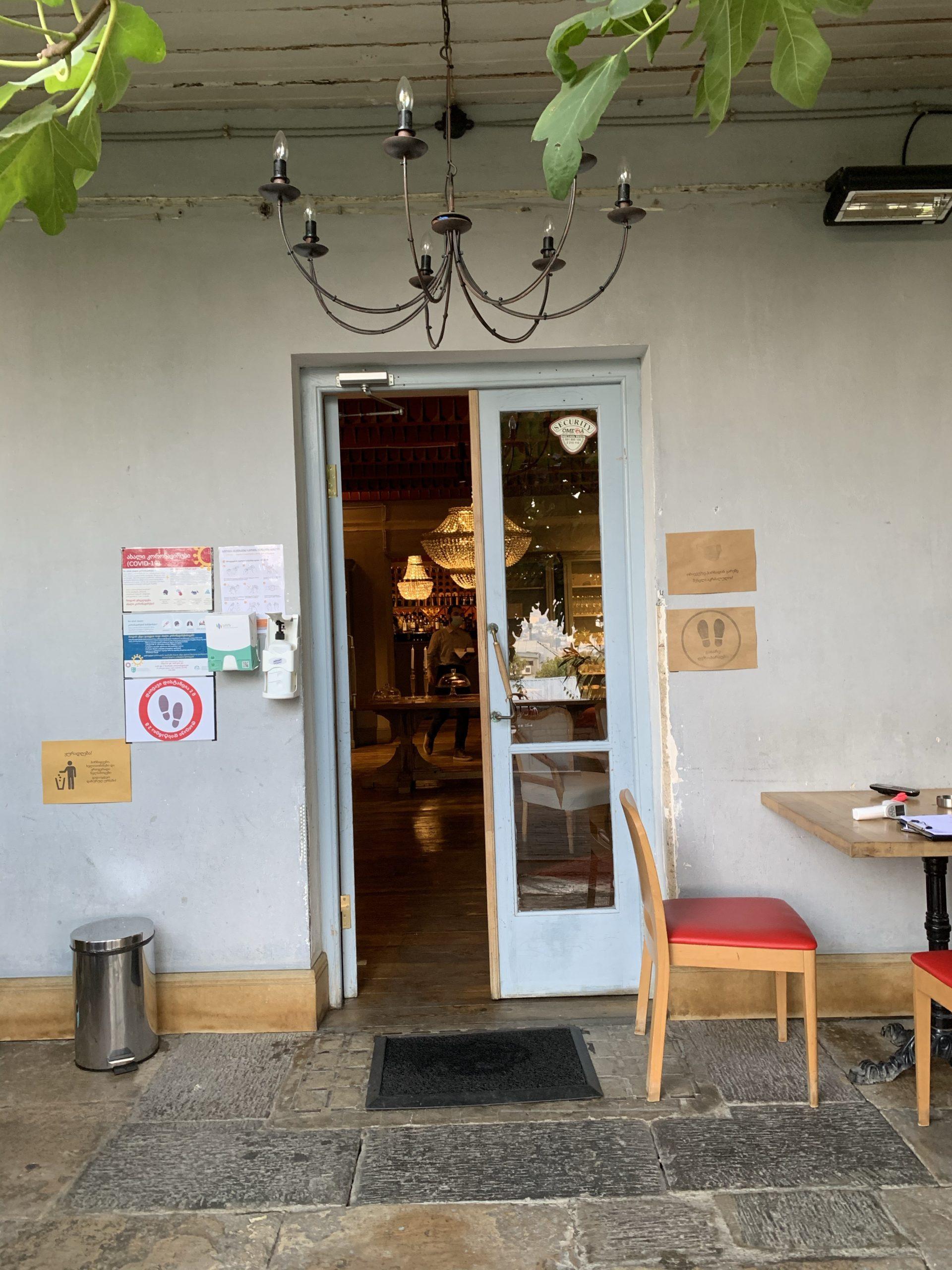 トビリシ観光客向けレストラン
